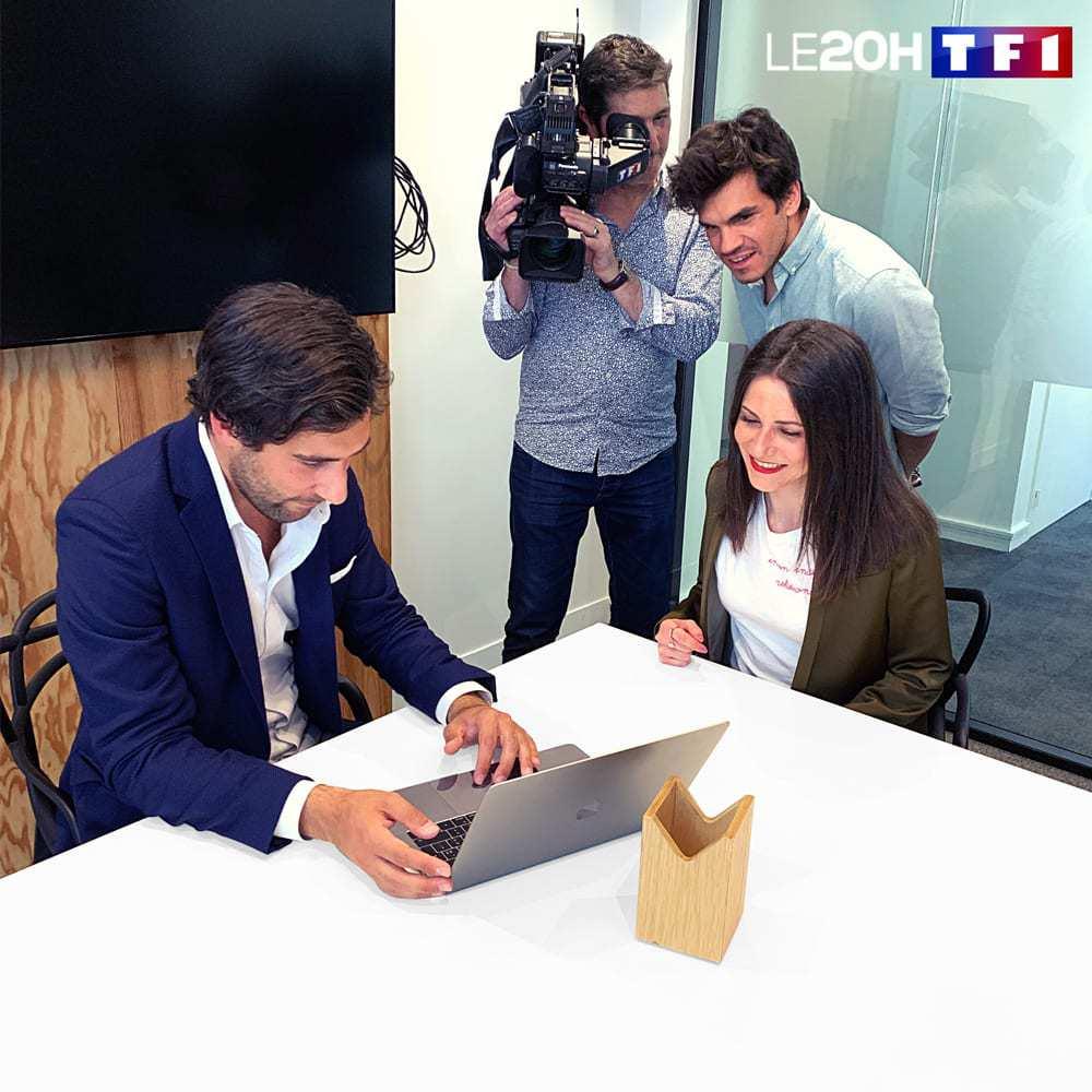 Nicolas Kern, Formateur Instagram sur TF1