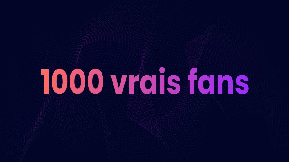 1000 vrais fans